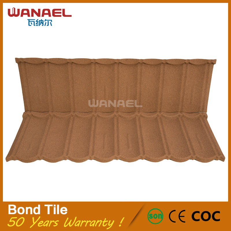 Construction companies Wanael Bond metal Solar PVC Heat Insulation Roof Shingles
