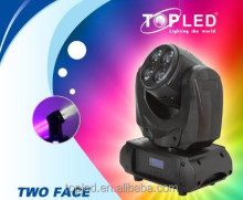 Pan&Tilt Omni-Directional Lighitng Continous Rotation 8*4-in-1 RGBW Two Face sharpie lights beam 230 moving head