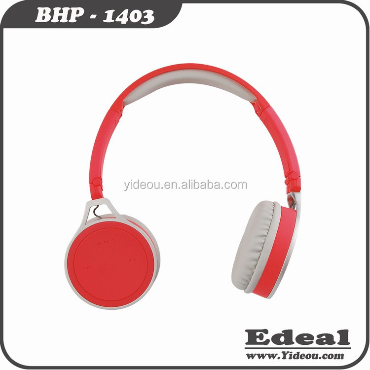 Hot selling good quality cute headphones wireless stereo bluetooth headset n98 for computer