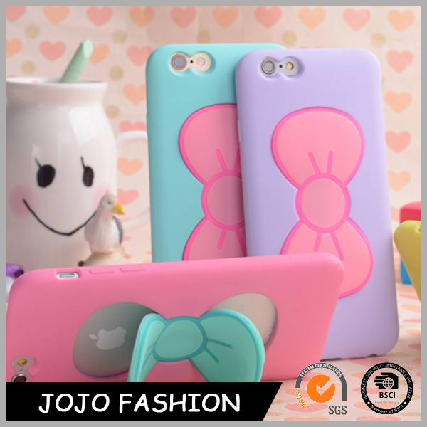 Butterfly Bow Stand Holder Cartoon Phone Case