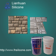 Mold Making Silicone Rubber For Artificial Rock/Artificial stone,for stone veneer