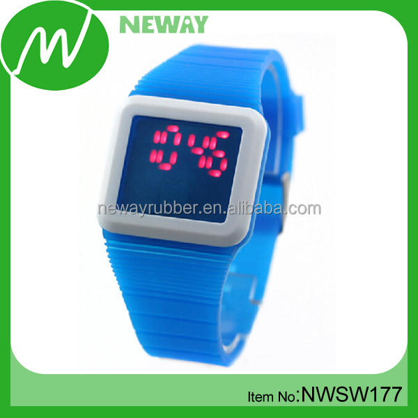 China Supplier Simple Soft Fastrack Wrist Watch