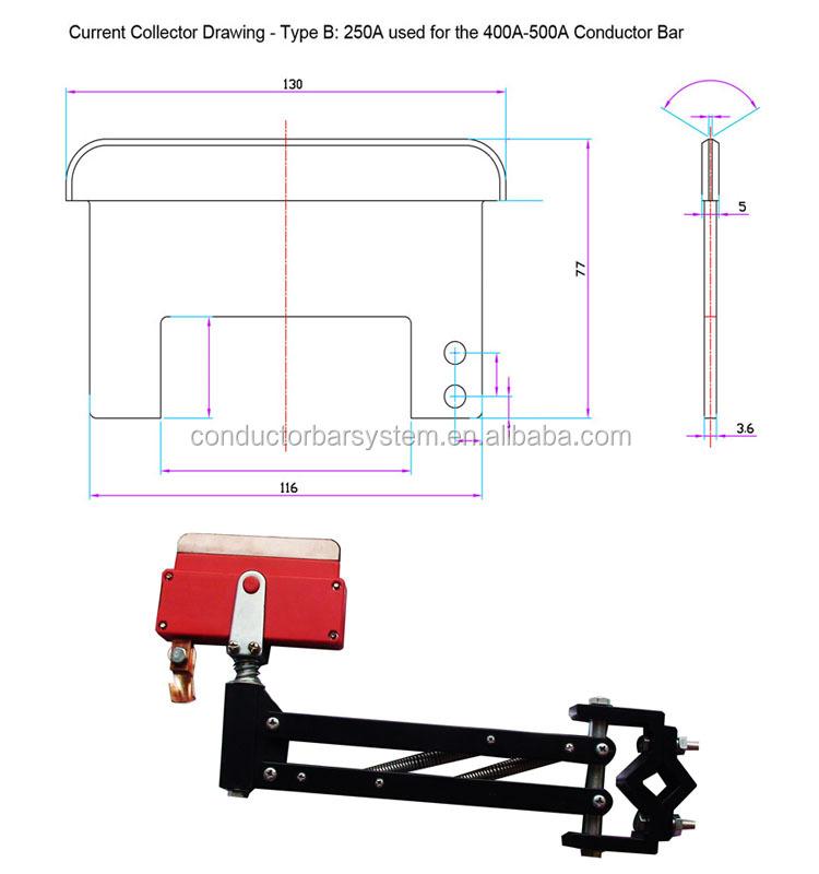 Overhead Crane Busbar System : Top quality conductor bar overhead crane busbar with best