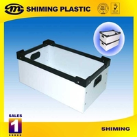 Large Capacity PP Corrugated Plastic Containers box