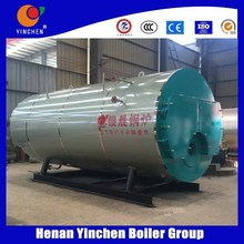 Top quality promotional natural gas LPG heavy oil or diesel steam engine boiler