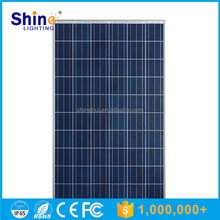 High efficiency poly 30V solar panels 250 watt photovoltaic solar panel with CE certificate