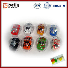 Mini pull back car vending machine capsule toy with candy