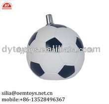 plastic foot ball toy for kids ,ICTI certified factory