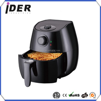 Low Fat Healthy Air Fryer and Multi Cooker with Rapid Air Circulation System, 2.8 L