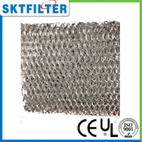washable aluminum pre filter mesh for filter dust