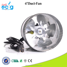 4 inch small size pipe exhaust fan ventilation with low power consumption