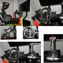 popular 360 degree rotating coin operated racing flight game simulator cockpit simulator for sale