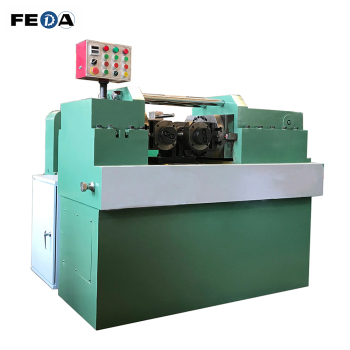 Steel thread rolling machine hydraulic thread rolling machine 200KN for making full thread bars