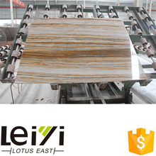 Polished white with golden veins rainforest onyx marble travertine slab price