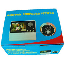 Smart 3.2 inch Take Photos Doorbell Peephole Good Night Vision Video Door video