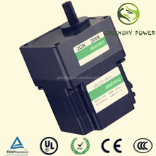 GS 6~400W gearbox with ban motor