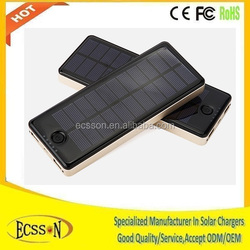 New 5V 10000mAh Outdoor Foldable Solar Charger Bag/Panel for cell phone