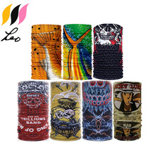 Multifunctional Magic Scarf,Bandannas Tube, High Elastic Head Wrap with UV Resistance