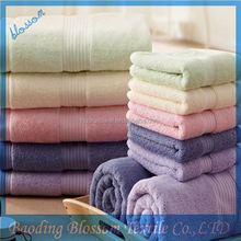 Blossom china manufacture closeout bath towel with low price