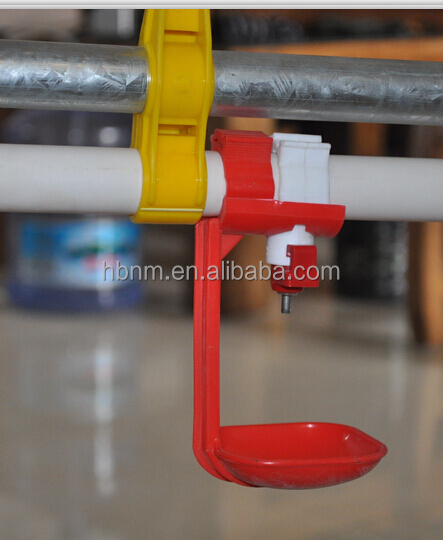 used poultry slaughtering equipment cconvenient cleaning chicken feeding line for poultry farm