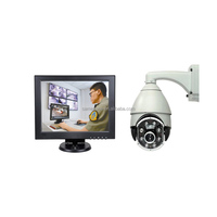 Security medical Customized quad split touch screen monitor