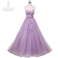 New Arrival Purple Bling Bling Prom Dress 2018