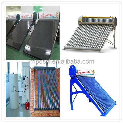 Rooftop Swimming Pool Solar Collector /Solar System Solar Collector
