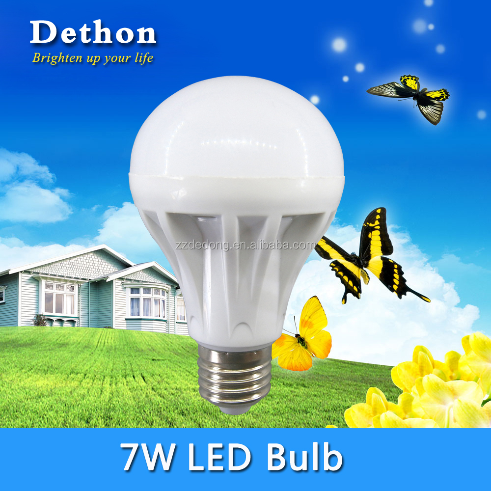 AC160-250V 7W E27 B22 LED Bulb for Home Lighting