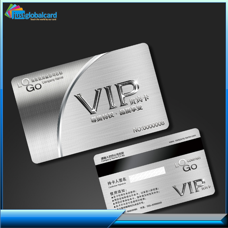 customized high quality printing plastic business pvc card