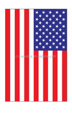 2016 design Best service OEM USA national flag paper air freshener