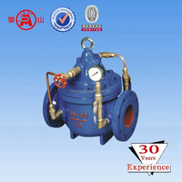 Delayed closed type silencing check valve 300 X