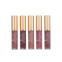 Longlasting unique designs cap lip gloss with empty lip gloss containers