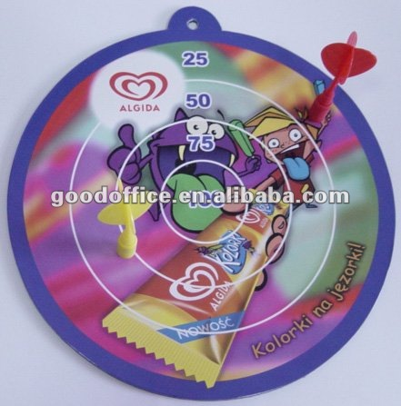 funny ECO-friendly high quality promotional gifts magnet dartboard