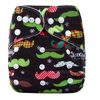 ananbaby one size holiday Halloween Christmas modern cloth nappy pants