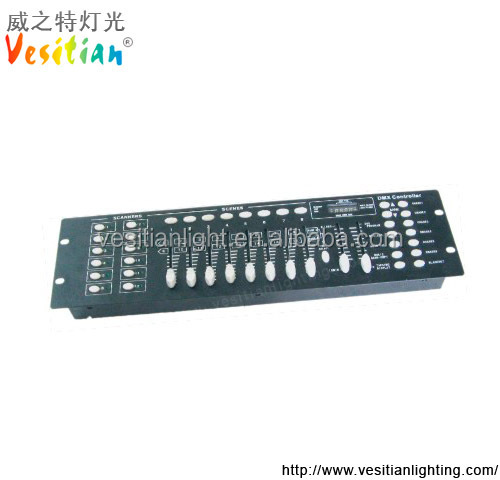 Wholesale price sound activated light console dmx 512 controller disco 192 dmx controller For Lighting Equipment