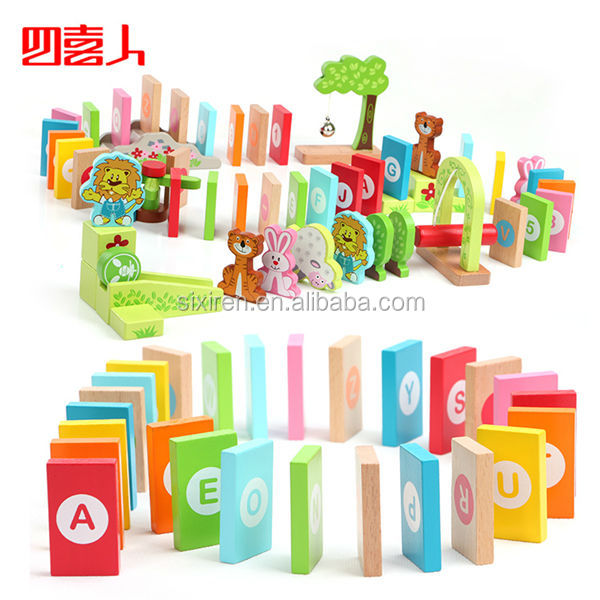 100pcs Creative Domino Children Educational Toys