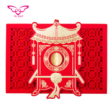 Quality Chinese Products Wedding Invitation Cards Models