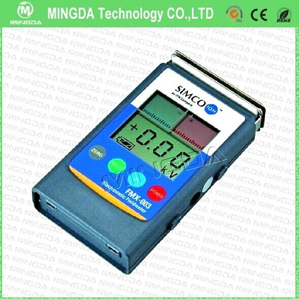 High quality hand-held FMX-003 electrostatic tester with competitive price , electrostatic tester / Static Field Tester