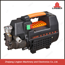 Lingben Small 1.5Kw Electric High Pressure Washer 100bar For Home Use In China LB-1450N1