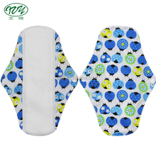 PUL Waterproof Soft Microfleece Inside Colorful Reusable Cloth Sanitary Pads
