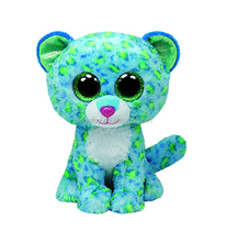 Fancy big eye green cat plush toy factory direct wholesale plush cat toy