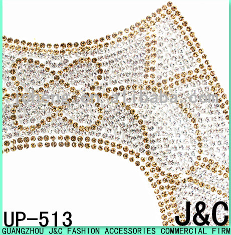 new arrival gold pu sandal adhesive beads sheets for uppers