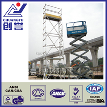 factory construction scaffolding mobile