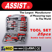 tool set of 25pcs durable home hand tool set for made in china best price