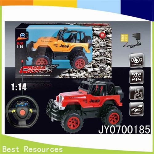 1:14 Radio Control Jeep Cross-country Car/4 CH R/C vehicle