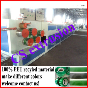 2018 hot sale plastic extruder machine / PET packing belt machinery / PET PP strap band production line
