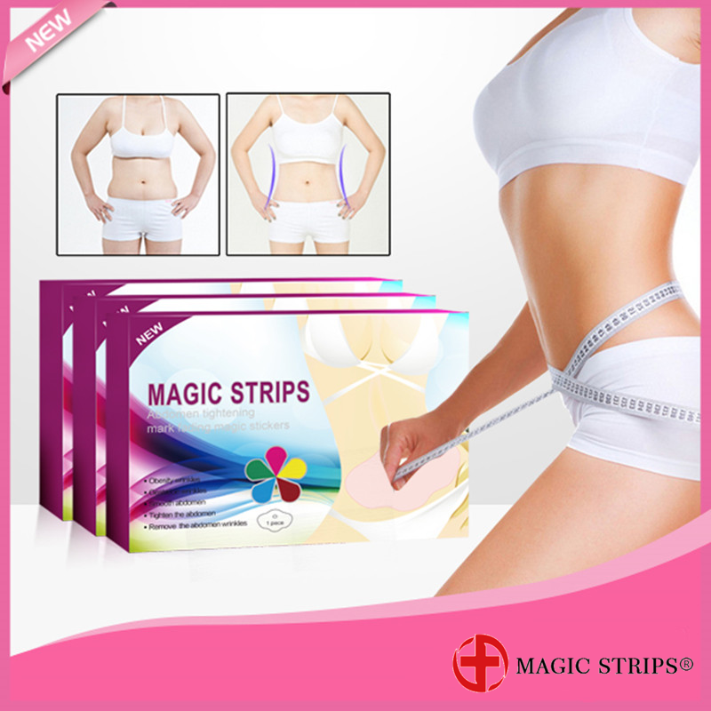 Magic Strips Health and Beauty Belly Fat Reducer Slimming Patch