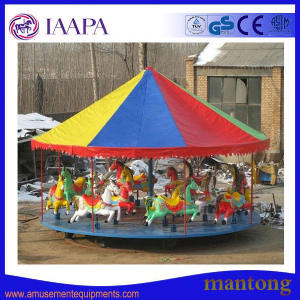 Amusement Park Carousel T Shirt Automatic Screen Printing Machines Used