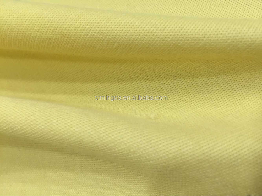 hot sale para aramid/ kevlar polyester fabric for protective gloves