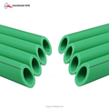 Plumbing plastic material hot sale in ethiopia good service green water supply plants pvc pipe ppr pipe pn 20
